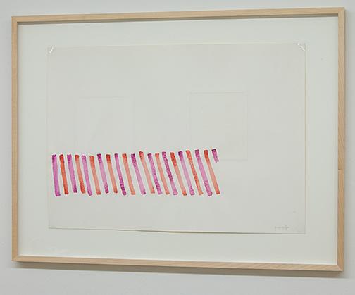 Giorgio Griffa / Giorgio Griffa Senza Titolo  n.d. 48.5 x 68.5 cm watercolor on paper