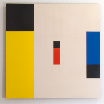 Andreas Christen / Untitled  1959/60  70 x 70 cm Acrylic on Masonite