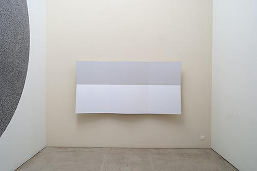 Andreas Christen / Ohne Titel  1999  120 x 240 x 23 cm MDF-Platte, weiss gespritzt