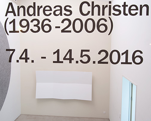 Andreas Christen / Andreas Christen (1936–2006)