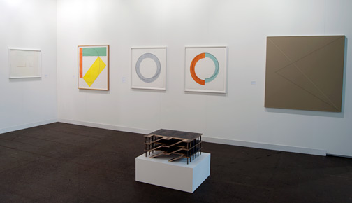 James Bishop,  				Antonio Calderara,  				Andreas Christen,  				Joseph Egan,  				Richard Francisco,  				Donald Judd,  				Sol LeWitt,  				Robert Mangold,  				Rita McBride,  				Ree Morton,  				Giulio Paolini,  				Sylvia Plimack-Mangold,  				David Rabinowitch,  				Glen Rubsamen,  				Fred Sandback,  				Richard Tuttle,  				Jerry Zeniuk, Art 42 Basel