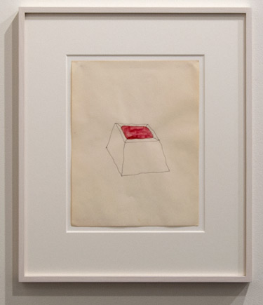Richard Tuttle / Richard Tuttle Belmore  1971 29.6 x 21.3 cm Ink and watercolor on paper