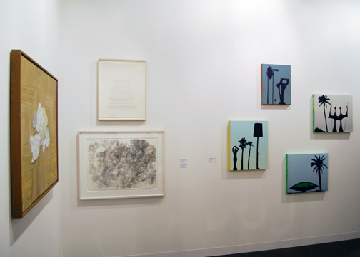 James Bishop,  				Antonio Calderara,  				Andreas Christen,  				Joseph Egan,  				Richard Francisco,  				Sol LeWitt,  				Robert Mangold,  				Rita McBride,  				Ree Morton,  				Sylvia Plimack-Mangold,  				David Rabinowitch,  				Glen Rubsamen,  				Fred Sandback,  				Richard Tuttle,  				Jerry Zeniuk, ART 40 Basel