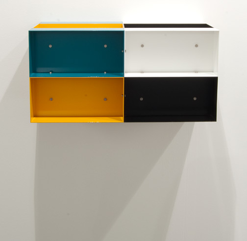 Donald Judd / Donald Judd Untitled 85-20  1985 30 x 60 x 30 cm Aluminium, enameled
