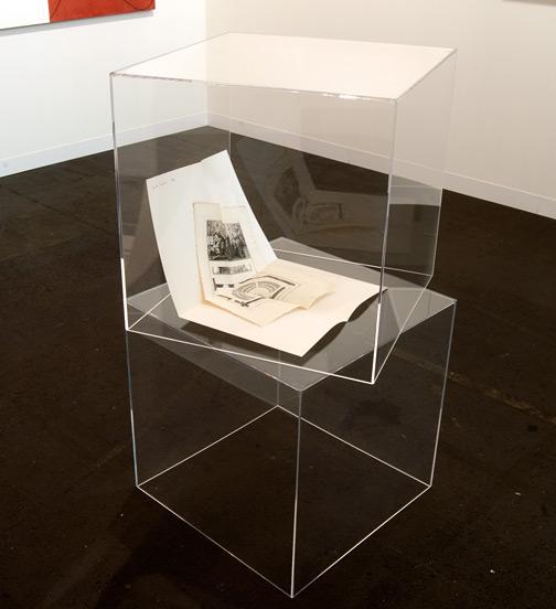 """Giulio Paolini / Giulio Paolini Senza titolo (della serie dei """"Disegni"""")  1964 two sheets, 65,3 x 50 cm Ink, paper, copperplate"""