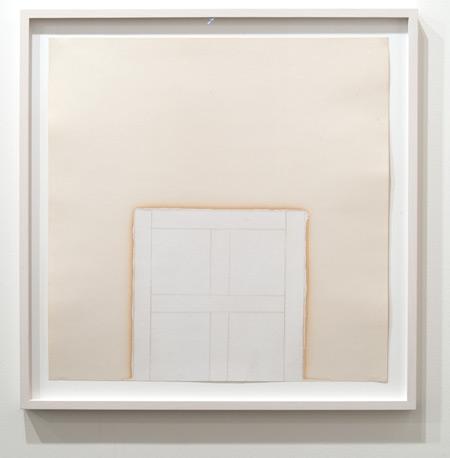 James Bishop / James Bishop Untitled  55,5 x 55,5 cm oil and crayon on paper