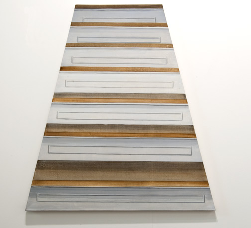 Sylvia Plimack-Mangold / Sylvia Plimack-Mangold Untitled (Staircase)  1968 100 x 94 cm acrylic on canvas