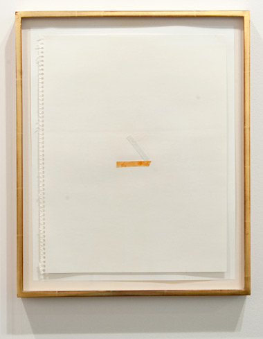 Richard Tuttle / Richard Tuttle Untitled (Collage Drawings) I, 11–20  ten drawings each 35,6 x 29,7 cm Watercolor an paper on paper