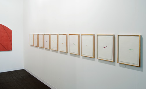 Richard Tuttle / Richard Tuttle Untitled (Collage Drawings) I, 11–20  installation view