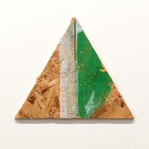 Richard Tuttle / Richard Tuttle Untitled  1997 17 x 20 cm various paints on plywood