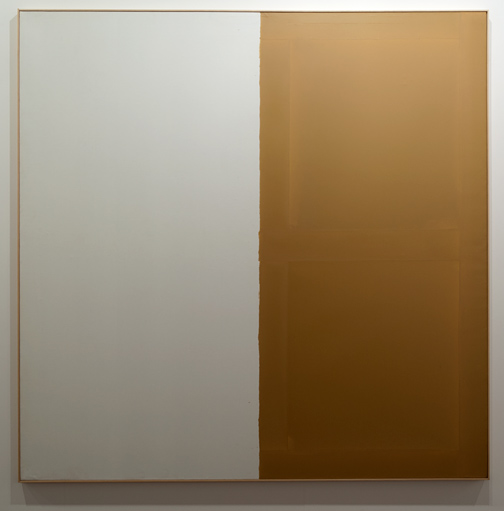 James Bishop / James Bishop Untitled  1974 192,5 x 193 cm Oel auf Leinwand