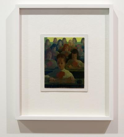 Antonio Calderara / Antonio Calderara Pittura 28 - Scuola  1951-1954 18 x 14 cm Oel auf Holztafel