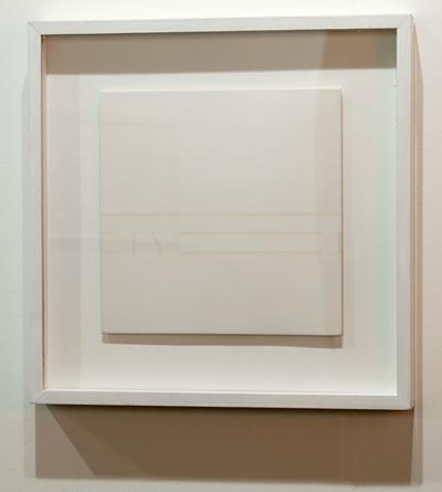Antonio Calderara / Antonio Calderara Spazio Luce  1976 27 x 27 cm Oil on woodpanel