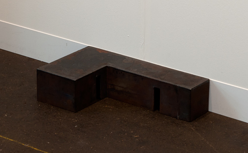 David Rabinowitch / David Rabinowitch Romanesque Abuttment II  1975 10 x 25 x 45 cm Solid, hot-rolled steel