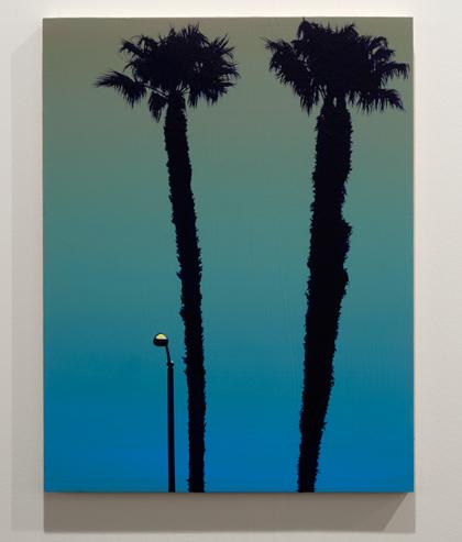 Glen Rubsamen / Glen Rubsamen it?s it  2013 45,7 x 35,6 cm Acryl auf Holz