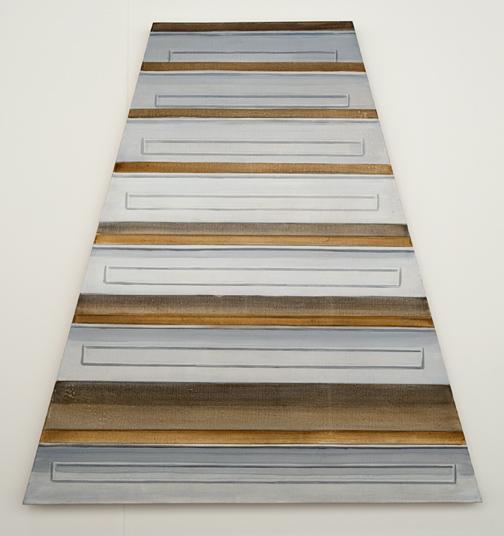 Sylvia Plimack-Mangold / Sylvia Plimack Mangold Untitled (Staircase)  1968 100 x 94 cm Acryl auf Leinwand