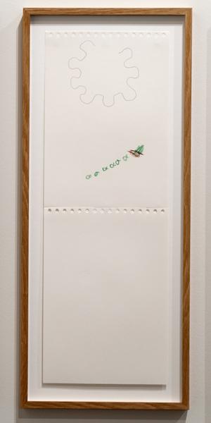 Richard Tuttle / Richard Tuttle Untitled  2012 59,5 x 21 cm Bleistift und Farbstift