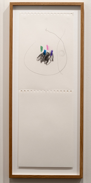 Richard Tuttle / Richard Tuttle Untitled  2012 59,5 x 21 cm Pencil and colored pencil
