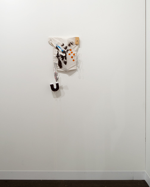 Richard Tuttle / Richard Tuttle «Sewn Painting» Nr. 4  1998 60 x 34 x 10 cm Wood, cloth painted, styrofoam, wire