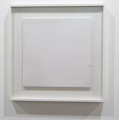 Antonio Calderara / Antonio Calderara Dimensione di quadrato nel quadrato  1966  36 x 36 cm Oil on wood panel
