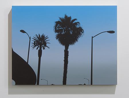 Glen Rubsamen / Glen Rubsamen Wet Dreams of Post-Capitalist Freedom  2013  45.7 x 61 cm Acrylic on panel