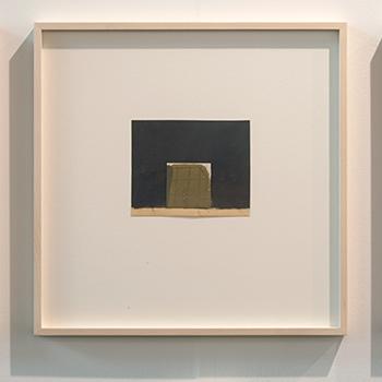 James Bishop / James Bishop Untitled  2014  13 x 16 cm Oil, crayon and collage on paper