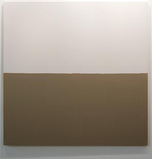James Bishop / James Bishop Untitled  1976  194 x 194 cm Oil on canvas
