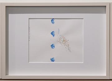 Richard Tuttle / Richard Tuttle Division # I – 1-7 RT'14  2014  Each: 22 x 31 cm Mixed media on paper