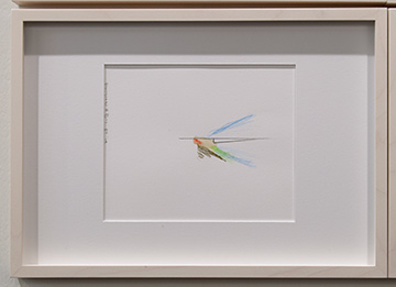 Richard Tuttle / Richard Tuttle Division # III – 1-7 RT'14  2014  Each: 22 x 31 cm Mixed media on paper