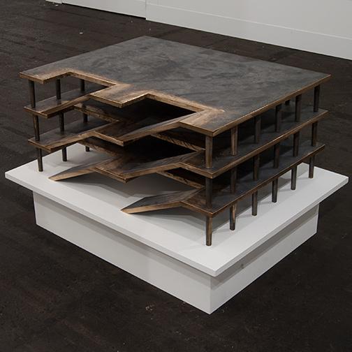 Rita McBride / Rita McBride Parking Garage (S)  2011  44 x 35 x 40 cm Bronze sandcasting Ed. 1/3