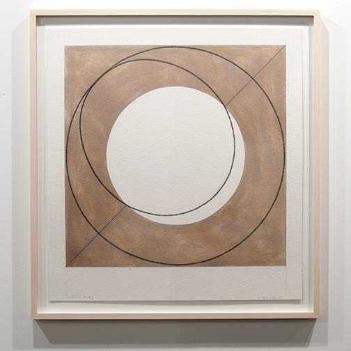 Robert Mangold / Robert Mangold Untitled Study  2011  81.3 x 75.6 cm pastel and pencil on paper