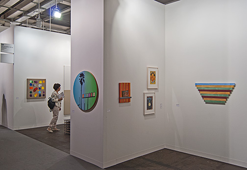 James Bishop,  				Antonio Calderara,  				Andreas Christen,  				Joseph Egan,  				Richard Francisco,  				Donald Judd,  				Sol LeWitt,  				Robert Mangold,  				Rita McBride,  				Ree Morton,  				Sylvia Plimack Mangold,  				David Rabinowitch,  				Glen Rubsamen,  				Fred Sandback,  				Richard Tuttle,  				Jerry Zeniuk, ART 46 Basel