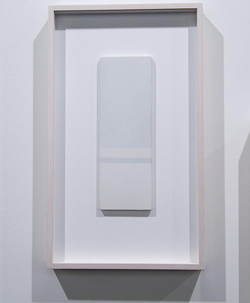Antonio Calderara / Antonio Calderara Orizzonte  1968–1969 27 x 9 cm oil on wood panel