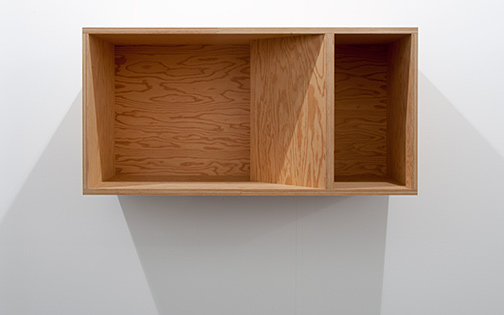 Donald Judd / Donald Judd Untitled (89-48)  1989 50 x 100 x 50 cm douglas fir plywood