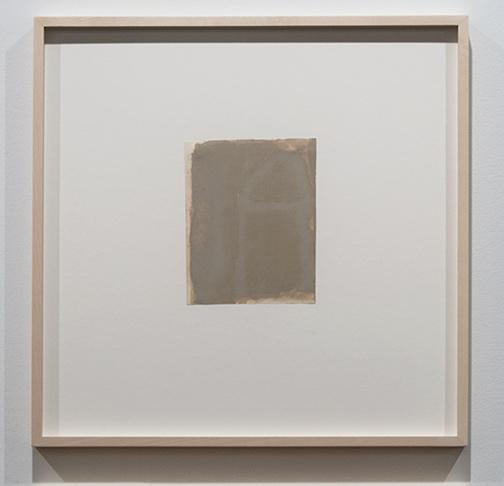 James Bishop / James Bishop Untitled  16.2 x 12.7 cm oil on paper