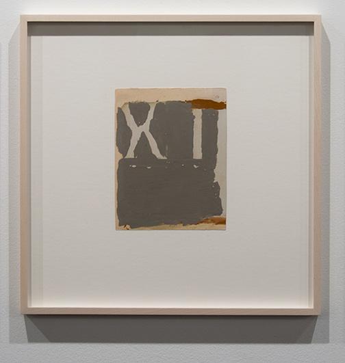 James Bishop / James Bishop Untitled  1977 19.9 x 15.7 cm oil on paper