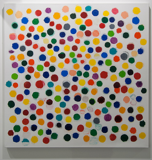 Jerry Zeniuk / Jerry Zeniuk Untitled (Nr. 301)  2008 160 x 160 cm oil on canvas
