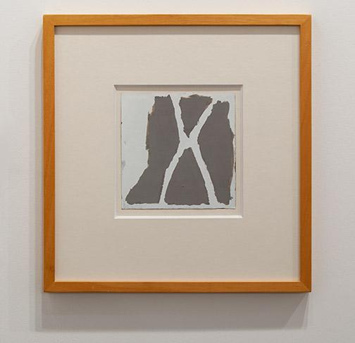 James Bishop / James Bishop Untitled  1982 20.6 x 20 cm oil on paper
