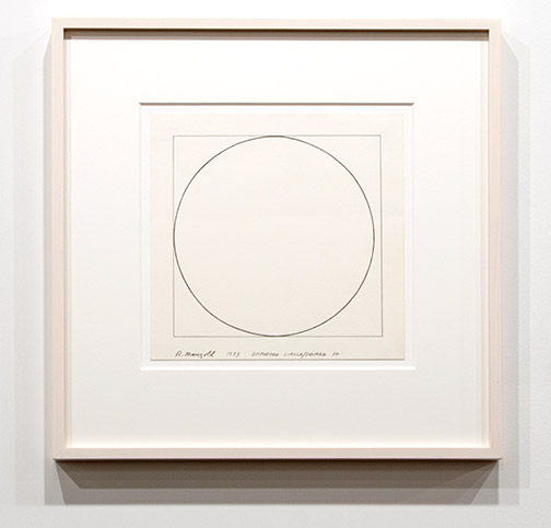 Robert Mangold / Robert Mangold Distorted circle / square 10  1973 21.7 x 21.7 cm pencil on paper