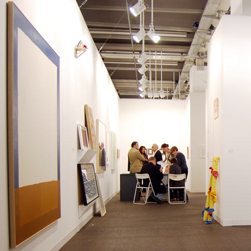 Rita McBride,  				David Rabinowitch,  				Sol LeWitt,  				Donald Judd,  				James Bishop,  				Jerry Zeniuk,  				Robert Mangold,  				Richard Francisco,  				Ree Morton,  				Sylvia Plimack Mangold,  				Fred Sandback,  				Richard Tuttle,  				Antonio Calderara,  				Andreas Christen,  				Joseph Egan,  				Glen Rubsamen, Art 39 Basel