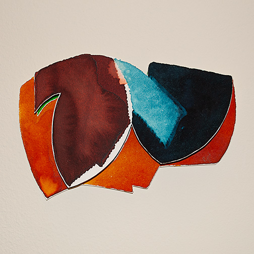 Richard Francisco / Richard Francisco Ghent Rogues  1982 ca. 10 x 6 x 1 cm each watercolor on arches paper 17 individual works