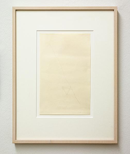 Richard Tuttle / Richard Tuttle 48 1/2ˮ Center Point Works I (10)  1976  20.3 x 12.7 cm / 8 x 5ˮ  pencil on paper