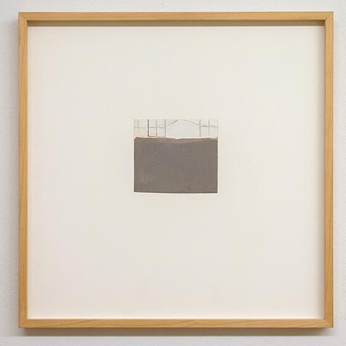 James Bishop / James Bishop Untitled  2011  10 x 11.3 cm oil and crayon on paper