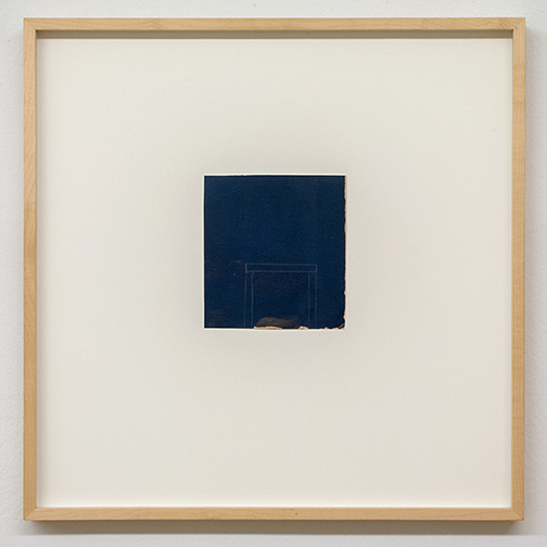 James Bishop / James Bishop Untitled  2012  12.9 x 11.8 cm oil and crayon on paper