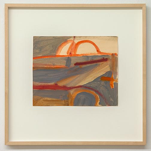 James Bishop / James Bishop Untitled  1956   21 x 25.3 cm oil on paper