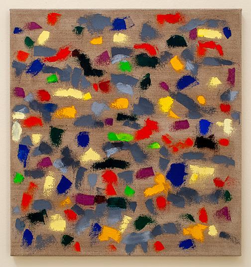 Jerry Zeniuk / Jerry Zeniuk Untitled (Italia)  2001  75 x 70 cm oil on canvas