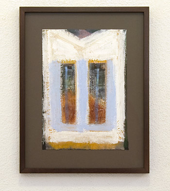 Joseph Egan / Joseph Egan seen in Greece  2010 35 x 27 x 2 cm Various paints on paper with framing