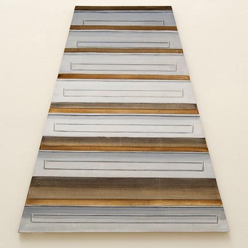 Sylvia Plimack Mangold / Sylvia Plimack Mangold Untitled (Staircase)  1968 100 x 94 cm Acrylic on canvas