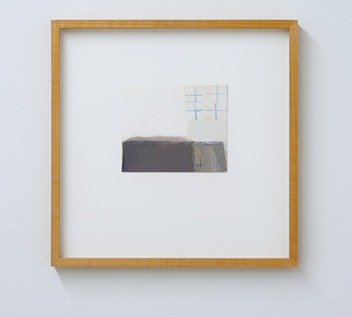 James Bishop / Untitled  2001 11.3 x 13.8 cm oil and crayon on paper