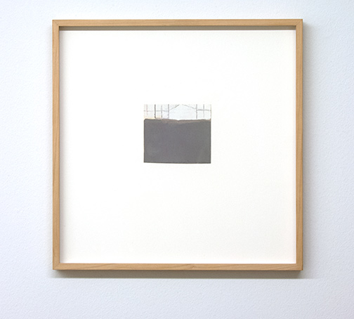 James Bishop / Untitled  2011 10 x 11.3 cm oil and crayon on paper